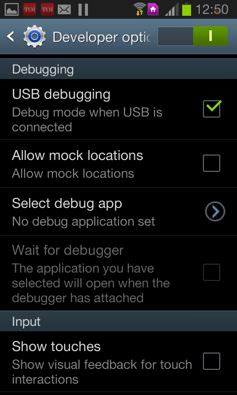 Enable usb debugging i android devices explained by android captain