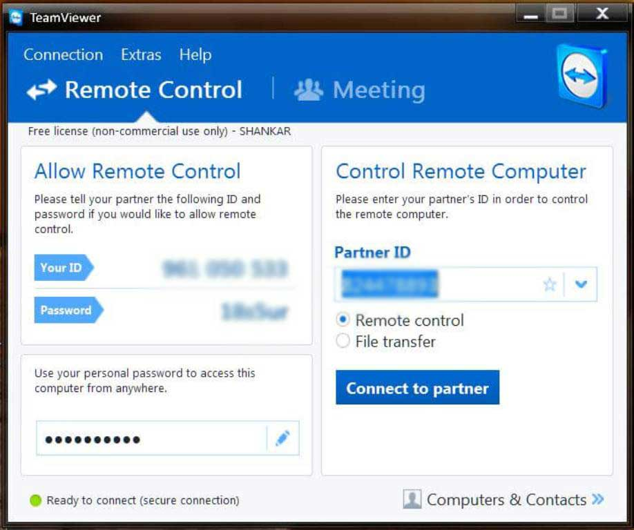 How to Control your android phone from your PC using Teamviewer QS by androidcaptain.com