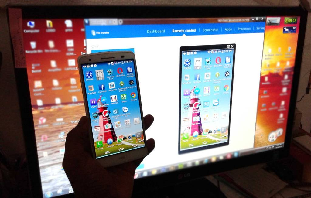 Control your android phone from your PC using Teamviewer QS by androidcaptain