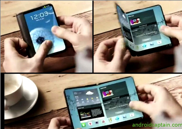 Photo of Samsung is going to launch a phone with flexible screen that bends and folds