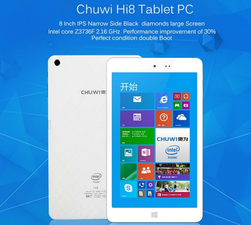 Chuwi Hi8 Review