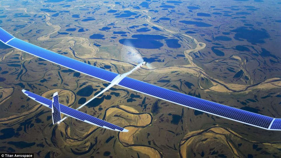 Photo of Google plans to beam 5G internet from solar drones