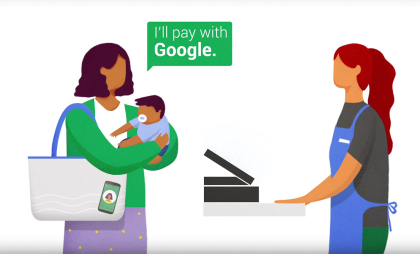 "Photo of Google's ""Hands Free"" payment method has gone live"