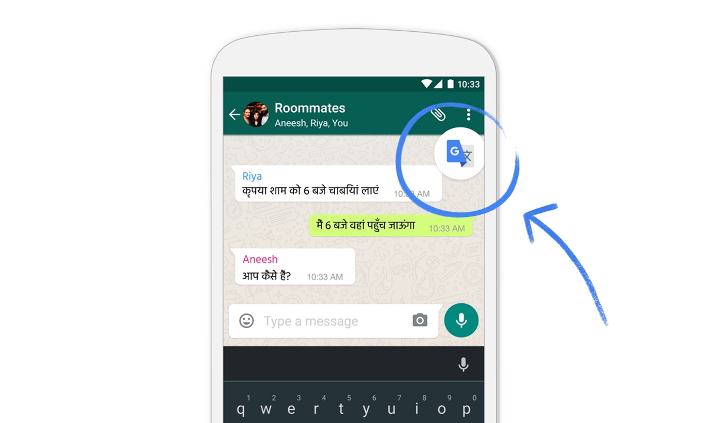 Photo of Google Translate now works in apps on any Android phone