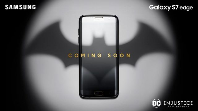 Photo of Galaxy S7 Edge Injustice Edition : Batman themed phone by Samsung is coming soon