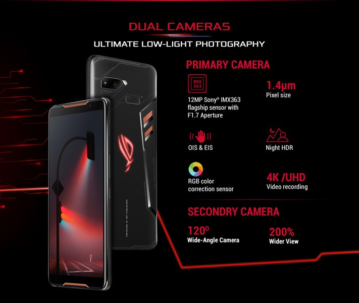 asus rog phone 2 specification